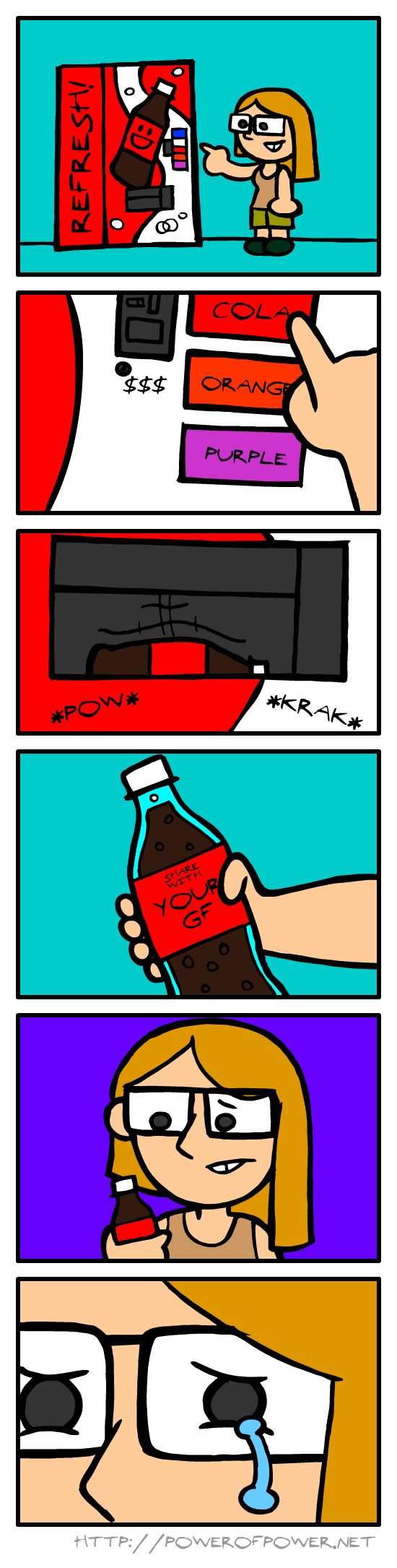 Stupid soft drink...