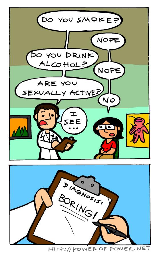I'm not boring D: