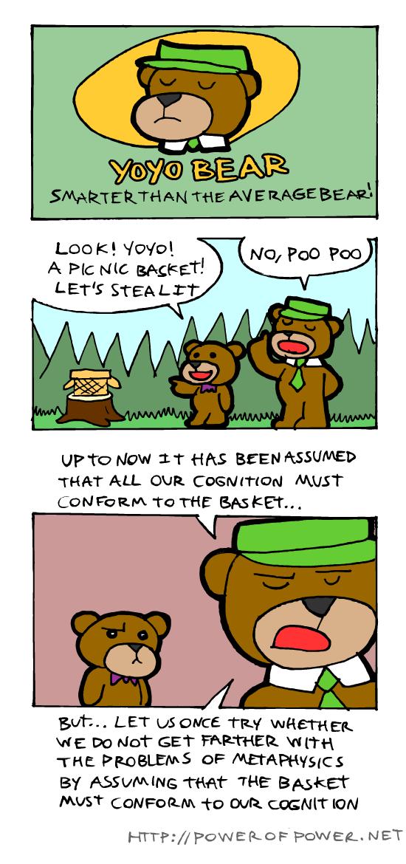 Kantian bear...